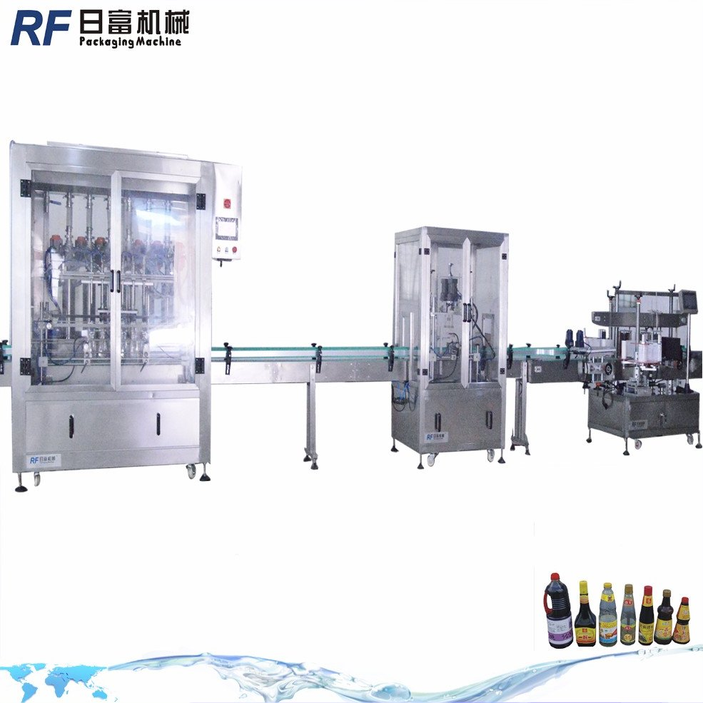 Wine washing bottling labelling filling capping machine