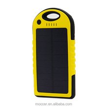 Handy high qualit solar battery charger,torch flashlight solar power bank with SOS function