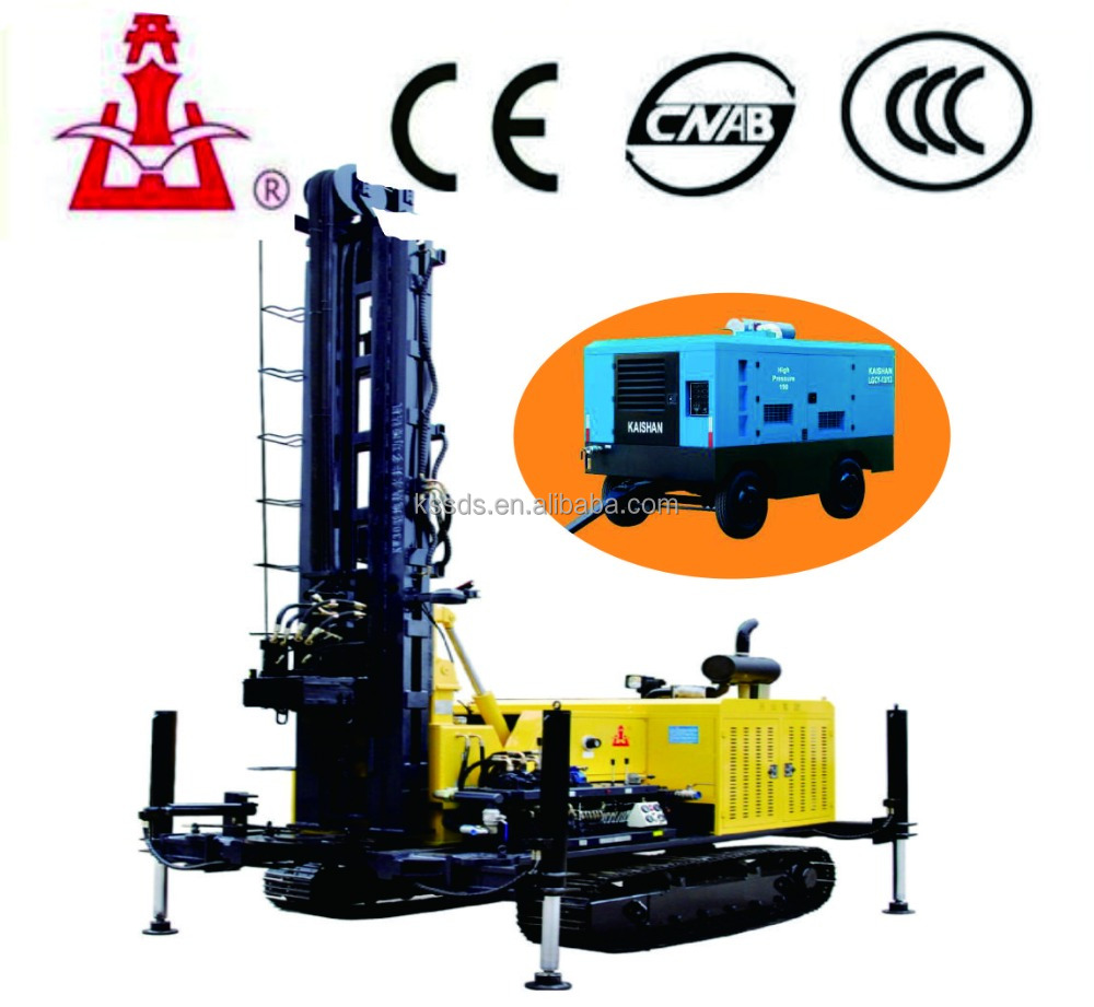 Crawler hydraulic drilling rig machine used borehole dilling machine for sale