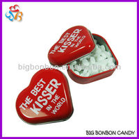 Sugar Free Heart Shape Mint Candy