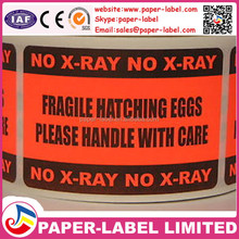 paper label,print adhesive custom fragile sticker roll