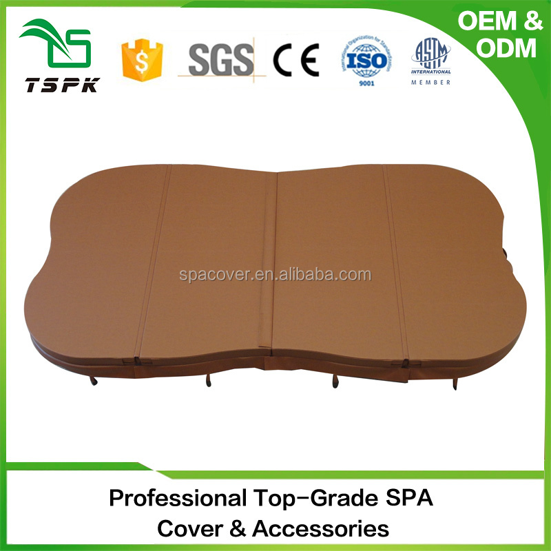 2017 hot production luminum insulation spa cover you can walk on