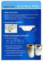 PVC Rigid Film for Alu Alu Cold Formed Foil