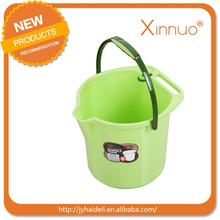 Customized colorful durable water pail small plastic buckets
