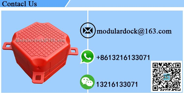 Modular floating dock -Contact
