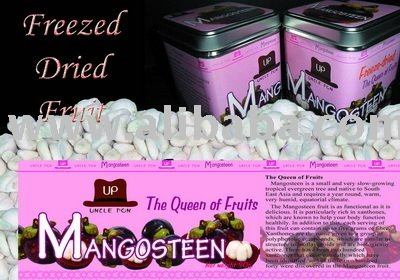 Freeze dried mangosteen
