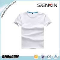 Custom boy's plain t-shirts 100% cotton blank promotion t shirts kids made in china