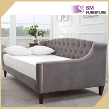 Carton European French Style Living Room Fabric Daybed
