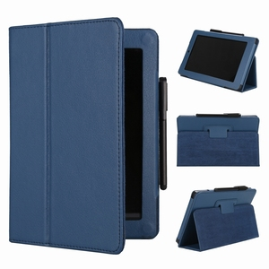 "Tablet Covers Cases for 2014 Kindle Fire HD 7"" E-book Leather Case"
