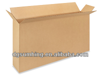 3 sided box Full-overlap flaps Side Loading Corrugated Boxes
