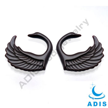 swan ear expander wholesale body jewelry in China