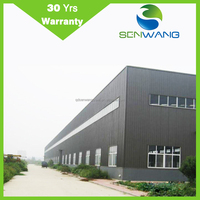 Pre fabricated steel structure pre engineering steel structure building