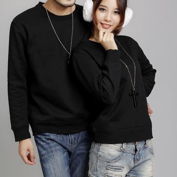 Alibaba China Low Price Custom Sweatshirt Bulk Blank Sweatshirt With 100% Cotton Sweatshirt Fabric