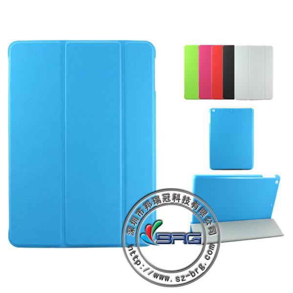 for ipad air smart cover case,for i pad air leather cover