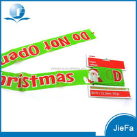 2015 New Product Christmas Party Christmas PE Banner Pe Warning Tape