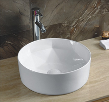 YJ 9425 New design diamond shape art basin bathroom sinks