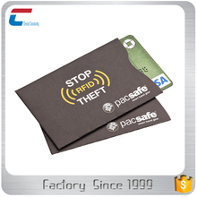 package in sets RFID Block 10 x Credit Card Sleeve 2 x Passport Protector