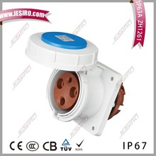 Male and Female Industrial Electrical Plugs and Sockets