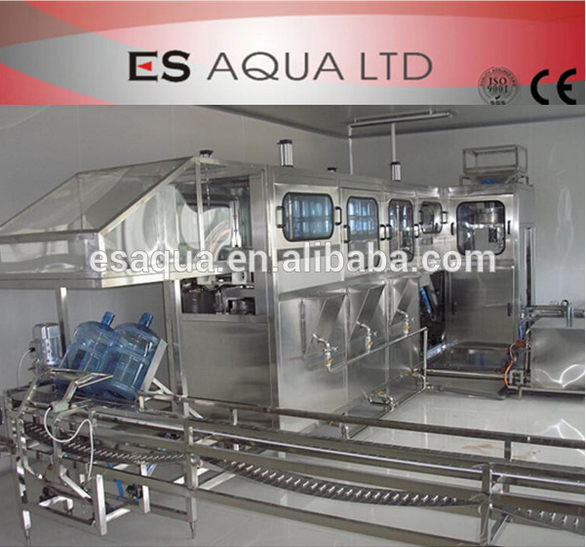 5 gallon bottle washer / 5 gallon purified water filling machine / Washing Filling Capping Machine