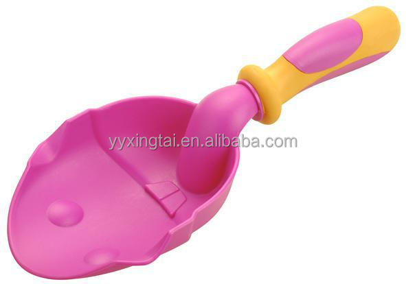 Funny mini kids plastic shovel,snow shovel for kids,garden play snow shovel