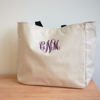 Customzied Personalized Bridesmaid Gift Tote Bag