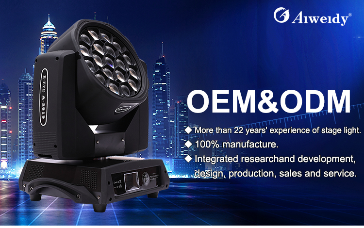 guangzhou led rgbw equipment bee eye led moving head digital 19x15w b eye k10 bee eye led moving head light clay paky sharpy