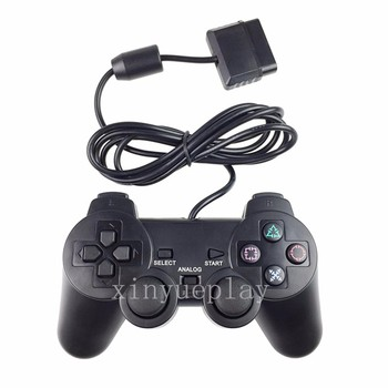 Black PX2 vibration Wired Controller