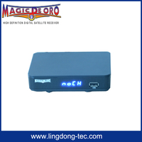 digital satellite receiver china azamerica s1005 MAGIC DE ORO with free iks sks iptv azbox