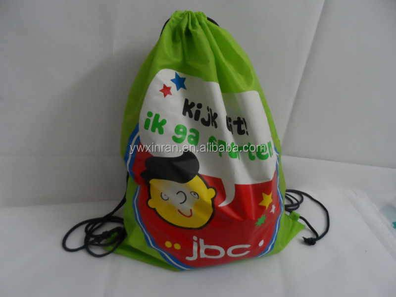 promotional gift drawstring bag for advertisement