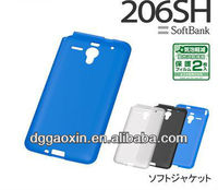 2013 TPU case for SoftBank AQUOS PHONE Xx 206SH