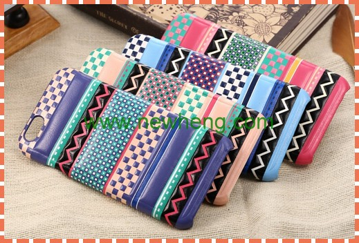 Fashion National wind design Pc Hard phone back cover Case For Iphone 6S