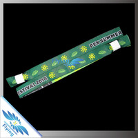 2015 customer new popular woven school wristbands for school sports