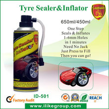 Tire Inflator Foam Tire fix a flat 450ML