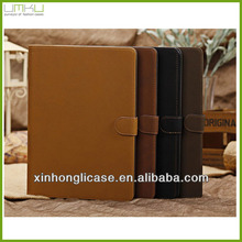 Retro leather case cover for iPad 5 air china supplier