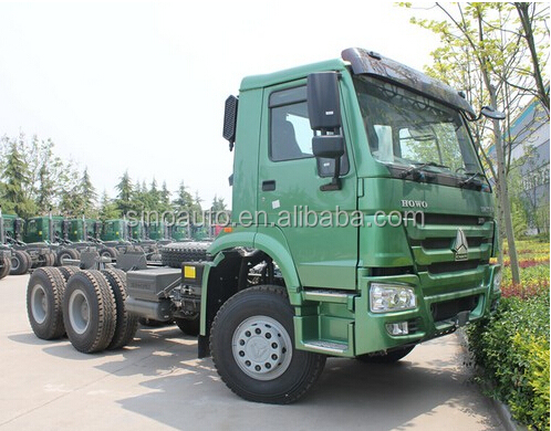original Sinotruk howo 6X4 tractor truck for sale