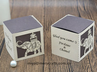 custom elephant party favors baby shower gift box with elephant