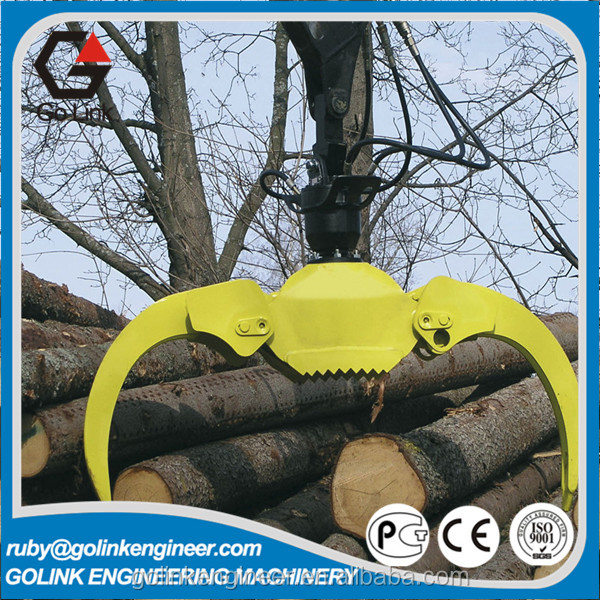 widely used high quality china trade assurance supplier hydraulic rotator grapple