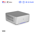Realan E-W80 Aluminum Mini PC Case With 3 COM Ports