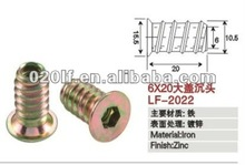 Iron insert nuts with cover/high quality product