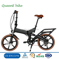 DOT USA new Full suspension 20 inch foldable electric bicycle