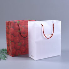 Custom Cheap Transparent Plastic PP Shopping Handle Bag with Handle