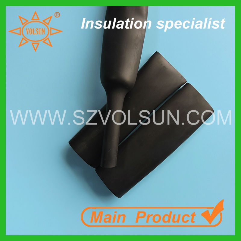 30MM low temperature rubber epdm wire heat shrink sleeve