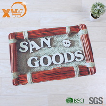 Custom Fashion Neoprene Outdoor Mat Outside Door Mat with High Quality