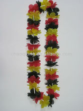 Germany flag color plastic flower garland