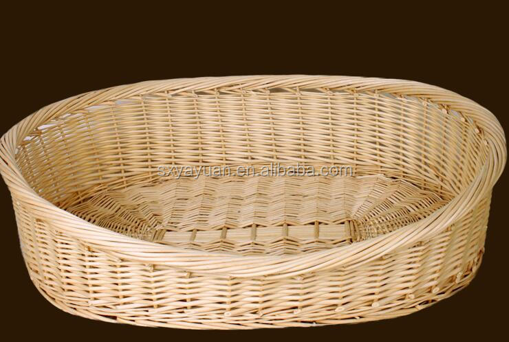 Export quality thick removable removable rattan kennel rattan nest Teddy gold large dog pet nest wicker cat bed