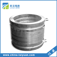 Electric band heater for hot runner mould systems Die casting plate Cast heater