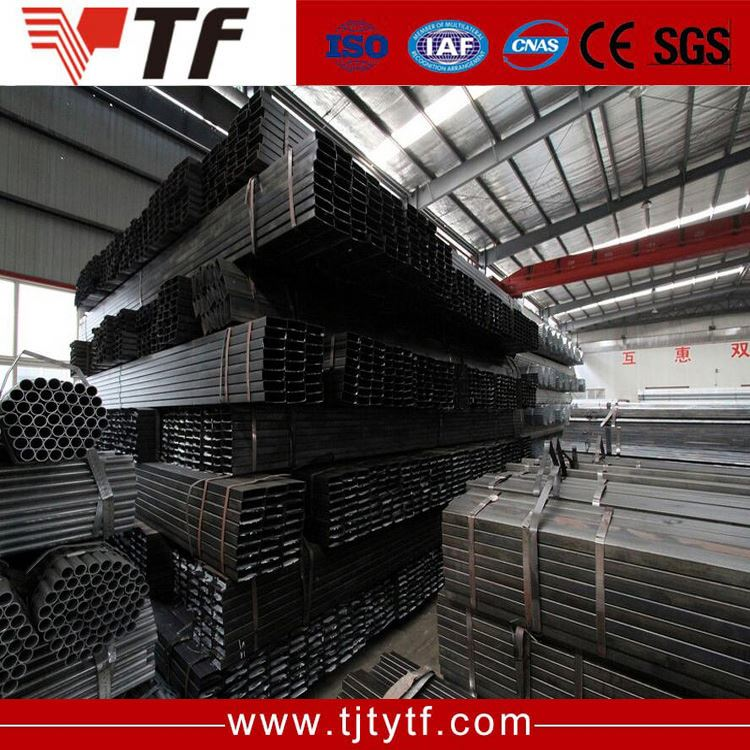 Building steel cold rolled black annealed 4130 square steel tube