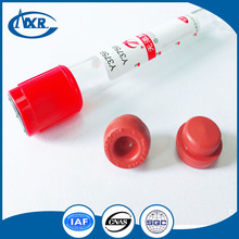 Rubber stopper for vacuum blood collection tube
