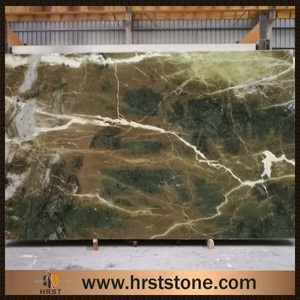serpentinite marble - ming rainforest green marble mosaic tile