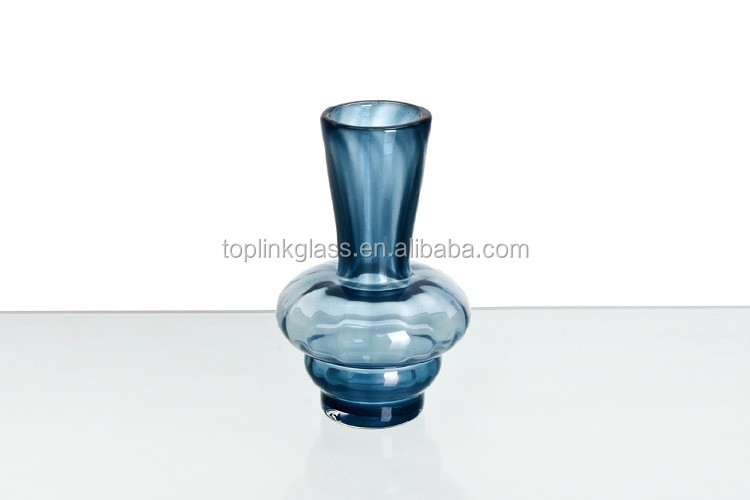 2015 Hot Selling Hand-blown Expensive glass vase